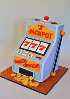 Slot Machine Cake, Hope's Sweet Cakes