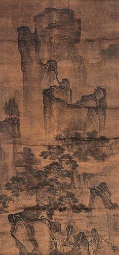 宋-范宽-万壑松风图 | by China Online Museum - Chinese Art Galleries