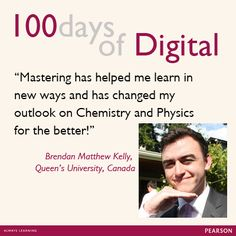 Students Speak about Pearson's MyLab & Mastering products. #MasteringChemistry #MasteringPhysics #PearsonStudents