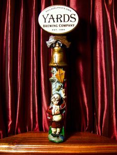 Amazing Beer Tap Handles: Tap Handle #438: Yards - The Franklin