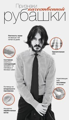 Инфографика: выбираем качественную рубашку - Я Покупаю
