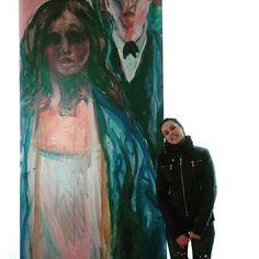 MUNCH  #spain  #madrid #ilovemadrid #munch #me #instamoments #sofuckingawesome #happy #arte #art #bestartists #instalovers #like #love #goodlife