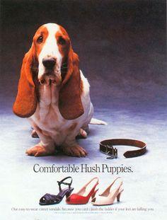 Tom McElligott - Comfortable Hush Puppies
