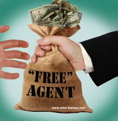 """The """"They Didn't Go Anywhere for Free"""" …Agents By Utter-Fantasy Writer & Illustrator Doug Bowles Who went where, for how much, and what we think about it…Read more…   http://utter-fantasy.com/the-they-didnt-go-anywhere-for-free-agents/"""