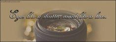 Eye is Shutter Mind a Lens Facebook Cover InstallTimelineCover.com