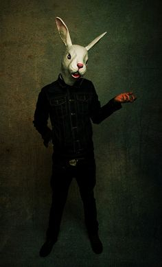 Animal mask/Anti Fashion, via Flickr.