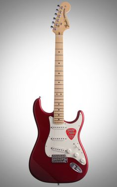 Fender American Special Stratocaster: Score a USA-made Fender for a great price. With a trio of Texas Special pickups and vintage-style two-point vibrato, the American Special Stratocaster rocks. American Special Stratocaster, Fender American Special, Fender American Standard, Fender Deluxe Stratocaster, Fender Usa, Fender Guitars, Candy Apple Red, Guitar Building, Beautiful Guitars