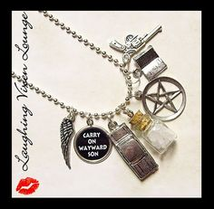 Supernatural Jewelry Supernatural Necklace by LaughingVixenLounge