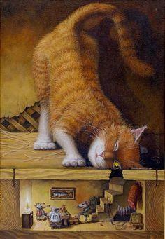 Αναμνήσεις από το μέλλον του χθές : Ο γάτος και τα ποντίκια & βίντεο