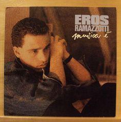 EROS RAMAZOTTI - Musica e` - Vinyl LP - La Luce Buona Delle Stelle - Solo con te