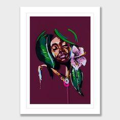 She Feels The Earth Art Print by Jen Sievers Pick Art, Nz Art, International Artist, Jaba, Painting Inspiration, Illustrators, Abstract Art, Earth, Art Prints