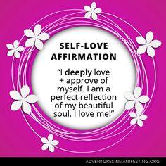 I am a perfect reflection of my beautiful soul
