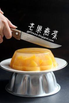 优格芒果燕菜