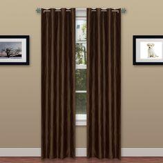 Wavy Window Grommet Curtain Panel