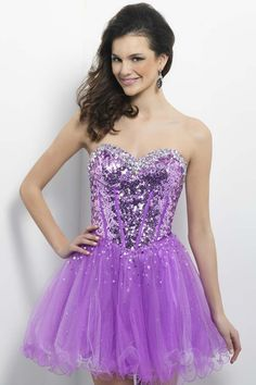 2014 Special Offer New Arrival A Line Sweetheart Short/Mini  Homecoming  Dresses With Rhinestones