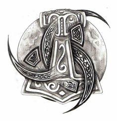 MJOLLNIR and Odins horns