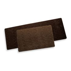 Microfibre Neoprene Rugs - Miller Brown    for kitchen sink?