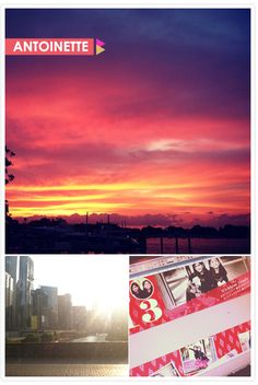 Antoinette's Instagram diary: sunset, sunlight and holiday in progress!