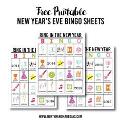 ... on Pinterest | Free Printable, Printables and New Year's Resolutions