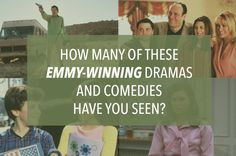 How Many Of These Award-Winning TV Shows Have You Seen