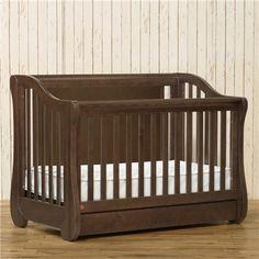 Franklin & Ben Mayfair Rustic Brown 4-in-1 Convertible Crib