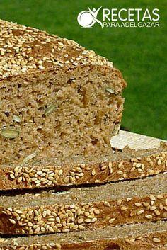 Aprende a hacer pan integral casero - Nosy Tutorial and Ideas Tortas Light, Cooking Bread, Types Of Bread, Pan Dulce, Pan Bread, Empanadas, Sin Gluten, Free Food, Banana Bread