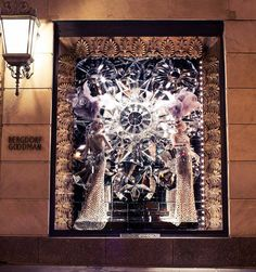 30+ winning retail window displays: visual merchandising at its best! - Blog of Francesco Mugnai.  Bergdorf Goodman Holiday Windows