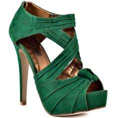green heels!!