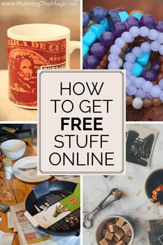 Free is for me! How to Get Free Stuff Online is the guide you need to start collecting those freebies! Get reading to know exactly how. Money Saving Challenge, Money Saving Tips, Money Savers, Get Free Stuff, Free Coupons, How To Get, How To Plan, Free Gift Cards, Frugal Tips