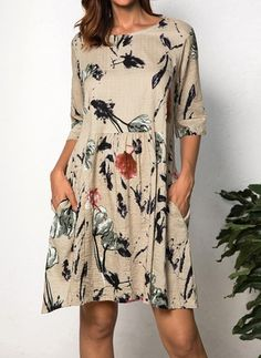 Latest fashion trends in women's Dresses. Shop online for fashionable ladies' Dresses at Floryday - your favourite high street store. Simple Dresses, Day Dresses, Casual Dresses, Short Dresses, Dresses For Work, Summer Dresses, Dresses Online, What To Wear Hawaii, Buy Dress