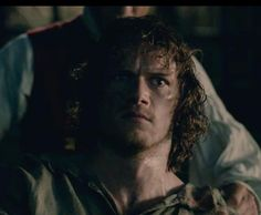 The face that launched a thousand Emmy awards! That single tear -brilliant!! Well done .@SamHeughan #BlackJackIsBack