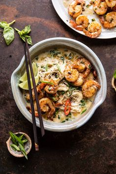 Cant wait to try this Saucy Garlic Butter Shrimp with Coconut Milk and Rice Noodles! Looks delicious!
