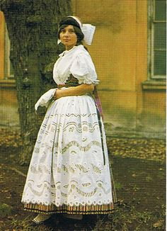 South Bohemian folk costume from Tábor region, Czechia
