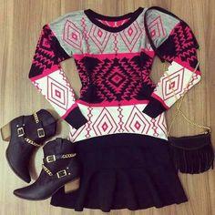 Winter Estilo Fashion, Christmas Sweaters, Winter, Winter Season, Christmas Jumpers, Tacky Sweater