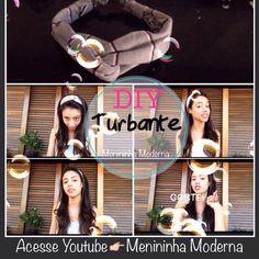 Aprenda a fazer turbante!  DIY