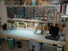 electronics lab | Here is a quick floorplan of the new lab room. Many of the photos ...