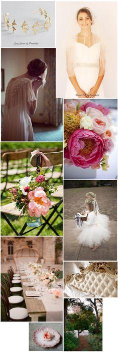English Country Rose Wedding