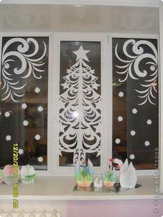 Ппгг Xmas Window Decorations, Paper Christmas Decorations, Christmas Paper Crafts, Windows Color, Window Art, Decor Crafts, Google, Christmas Things, Dates