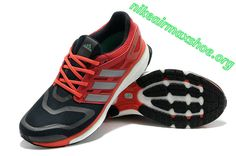 check out e19f2 bebfc Adidas Energy Boost Mens Shoes Review Running Shoes University Red Black  Silver G65058