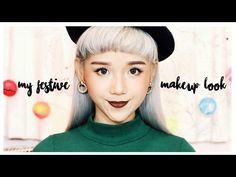 90's Rose Gold Festive Makeup Look | 復古感玫瑰金秋冬節日妝容分享 - YouTube