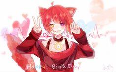 埋め込み Anime Wolf Girl, Cute Anime Boy, Anime Guys, Cute Anime Character, Cute Characters, Anime Characters, Neko Boy, Boy Cat, Anime Neko