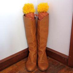 Pom Pom Toppers, DIY Boot Stuffers