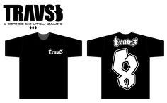 TRAVS8   T-Shirt No,08   4,900yen