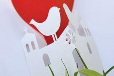 Per un matrimonio classico, la miniatura di una cattedrale con rosone e campanili!