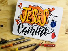 Bullet Journal Lettering Ideas, Christian Cards, Book Letters, Markers, Doodles, Stickers, Studio, Inspiration, Painting