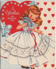 Girl Valentines  Southern Belle