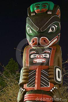 Totem Pole Victoria BC