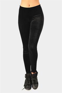 Velvet Legging - Black  enlarge    Velvet Legging - Black  $12.99