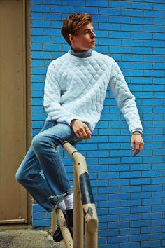 T Magazine The NY Times September Sweatshirt Editorial 2013 | SAMUEL JING