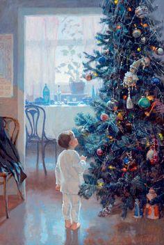скоро...скоро...Новый год (живопись). Обсуждение на LiveInternet - Российский Сервис Онлайн-Дневников